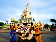 Disneyland & Lido Show (Optional) Paris