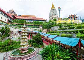 Find out authentic Penang's temples and beaches