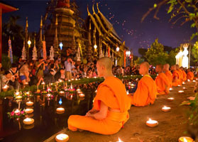 Loi Krathong or Festival of Lights