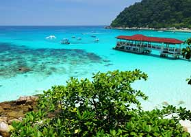 Relax on the Perhentian Islands
