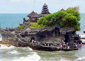 Hire car to Ubud Villages and Tanah Lot