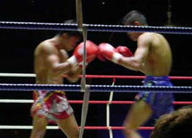 Watch a boxing match – Muay Thai